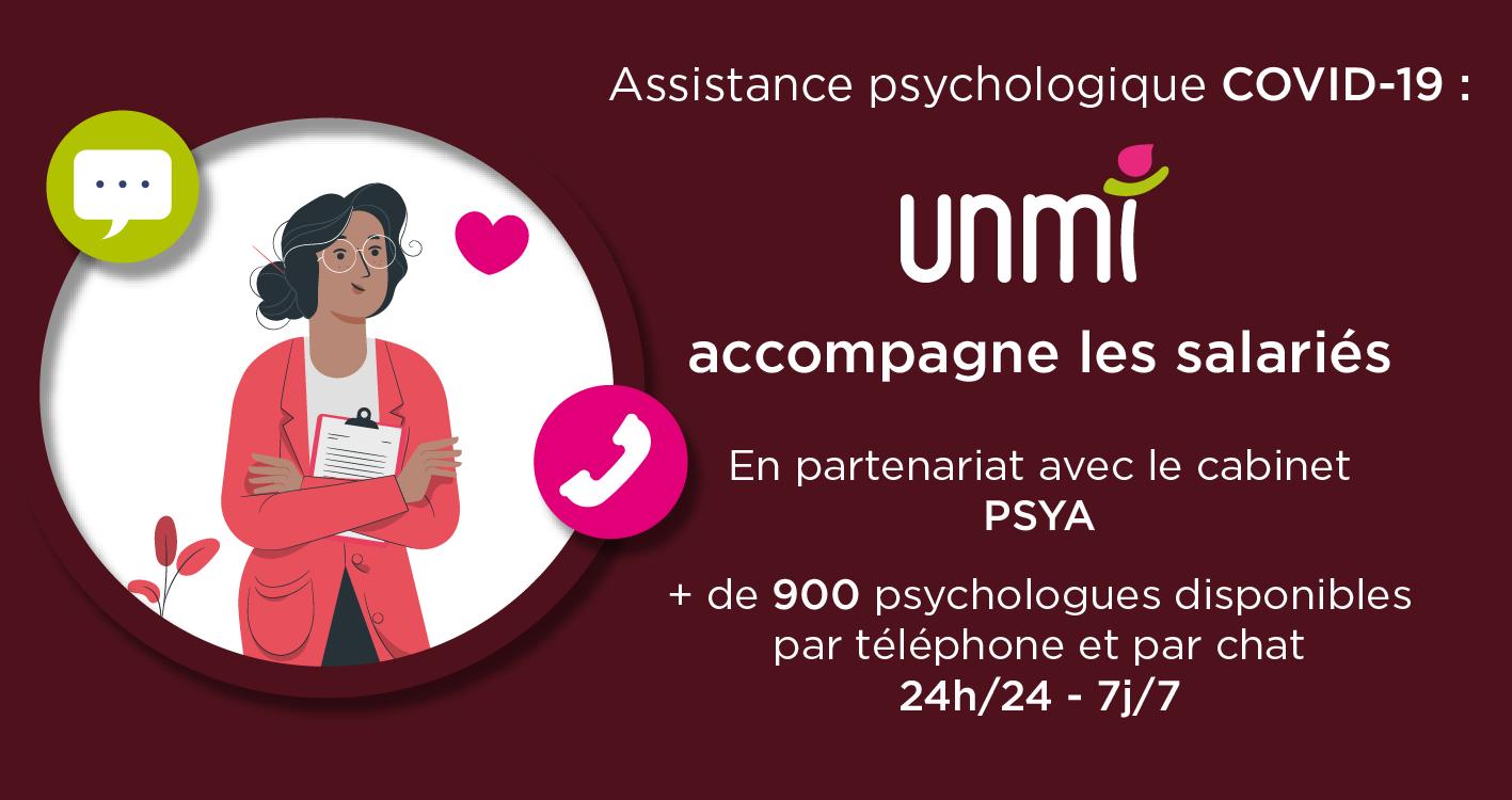 L'UNMI accompagne les salariés contre les risques psychosociaux