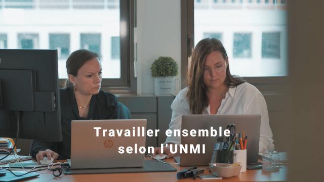 Travailler ensemble selon l'UNMI