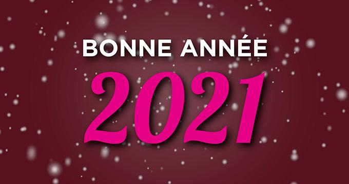 Belle et heureuse année 2021